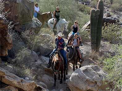 Riding in The Desert Southwest